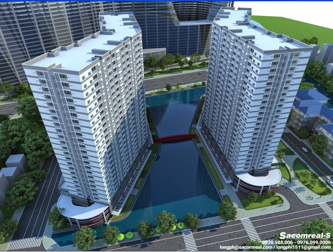 Phối cảnh tổng thể dự án nhà ở xã hội Jamona Apartment
