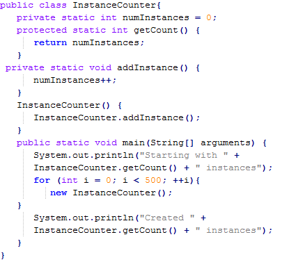 Java Static Methods