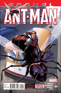 Scott Lang vs. Hank Pym in Ant-Man Annual
