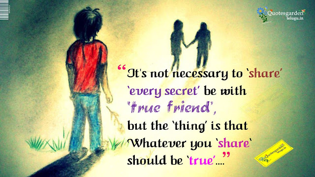 Latest Heart touching thoughts about friendship 737