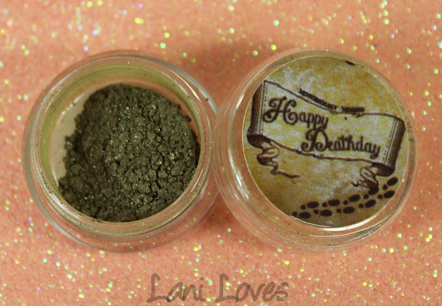 Notoriously Morbid Bloody Baron Eyeshadow Swatches & Review