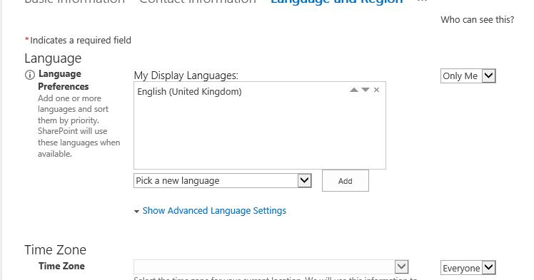 Vardhaman Deshpande: Update user language and regional settings with
