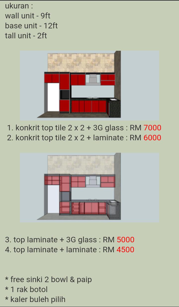 Promosi Kabinet Dapur Desainrumahid Com