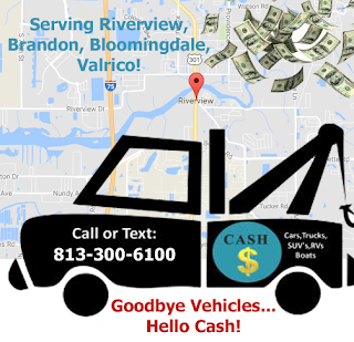 brandon junk car buyer, riverview junk truck buyer