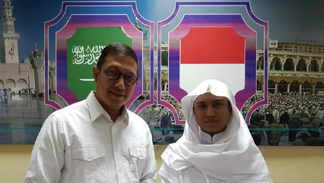 Bertemu Menag, 'Asal Yanto Cerita Tentang Jadi Imam Masjid di Mekah
