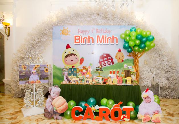 Trang trí sinh nhật tại Ninh Hiệp