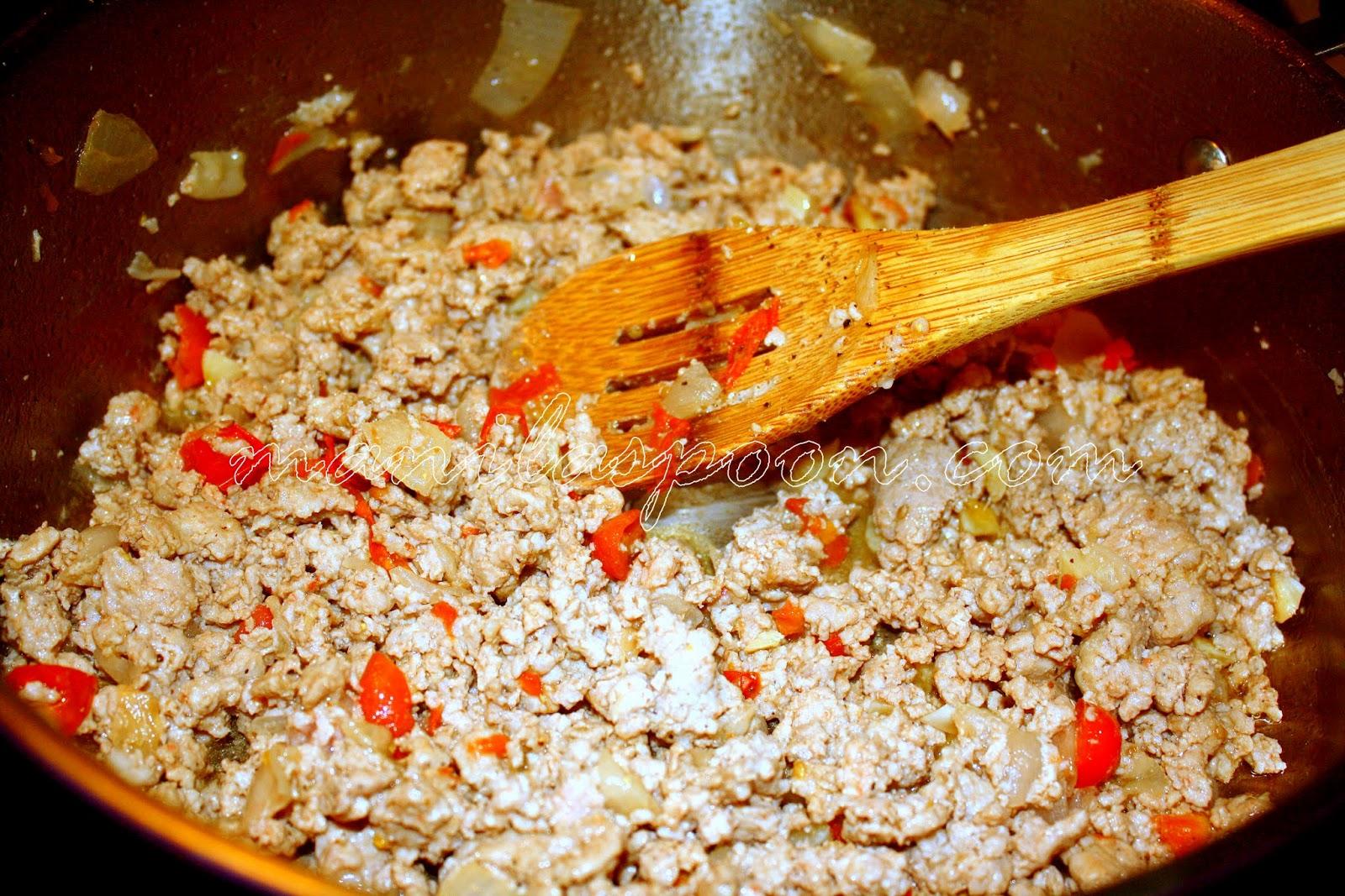 Ground Pork Menudo - Manila Spoon