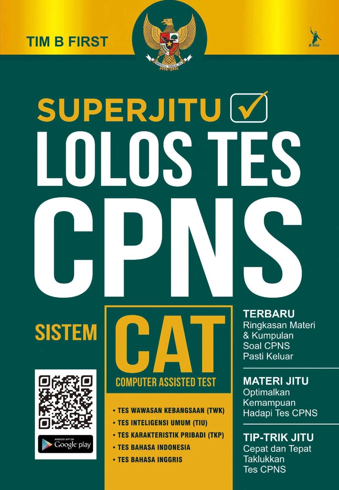 Download Superjitu Lolos Tes CPNS Sistem CAT
