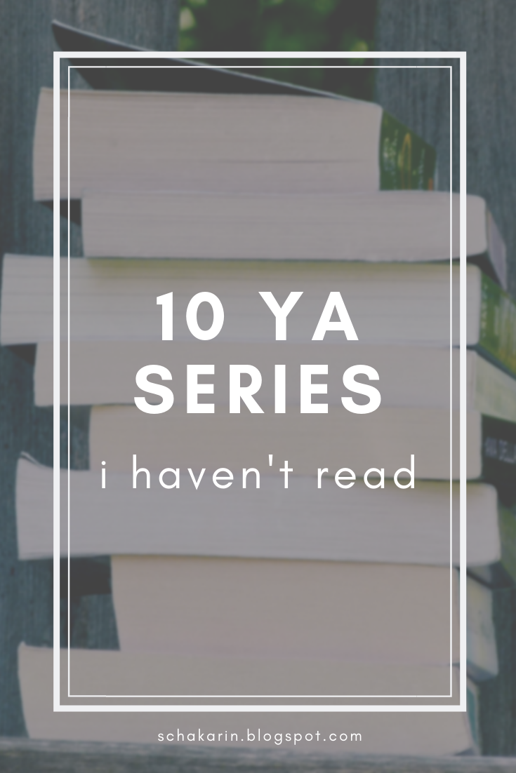 10 Popular YA Series I Haven't Read