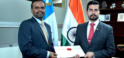 B.S.Mubarak became Ambassador of India to the Republic of Honduras