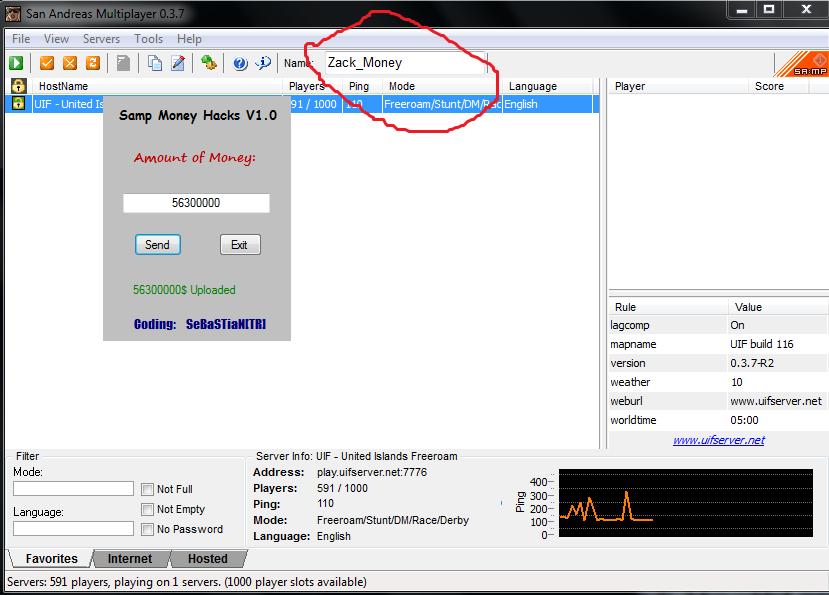 Samp Money Hack free download