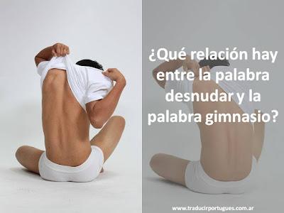 desnudar, gimnasio, desnudo, desvestir, despir, español, portugués