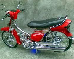 Ragam Motor Unik Modifikasi Motor Legenda