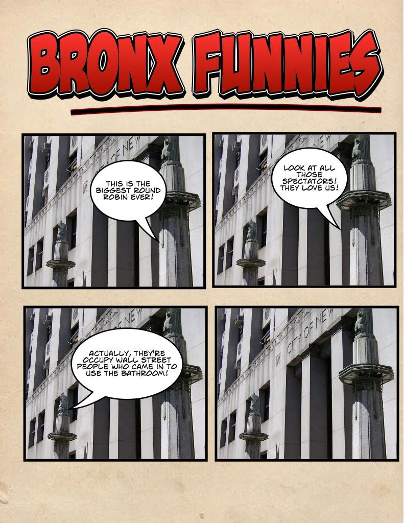 bronx funnies special round robin edition