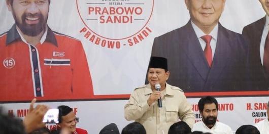 Prabowo: Saya Katakan Elite di Jakarta Hatinya Sudah Beku