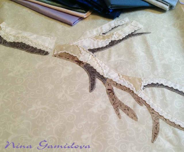 подготовка к шитью квилта