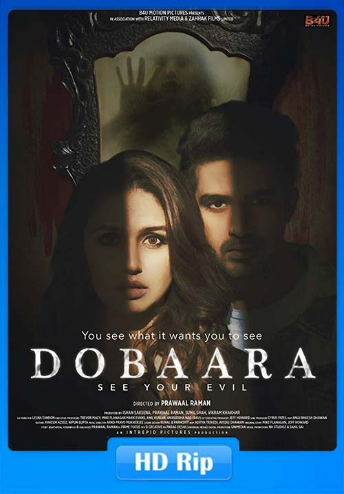 Dobaara 2018 720p HiNDi WEB-HD | 480p 300MB | 100MB HEVC