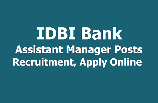 IDBI Bank Assistant Manager Posts 2018 Recruitment Results