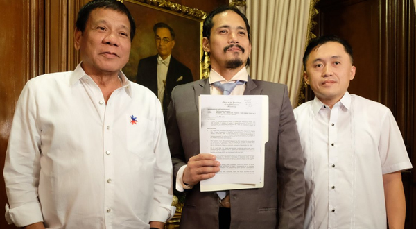 President Rodrigo Duterte grants Robin Padilla absolute pardon