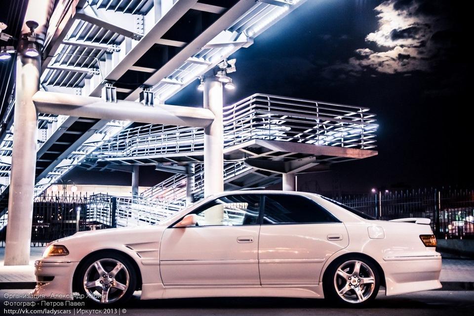 Toyota Mark II, 1JZGTE, RWD, tylnonapędowe sedany, japońskie, JDM, zdjęcia, nocne