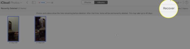 طريقة استرجاع الصور والفيديوهات من الايكلاود iCloud
