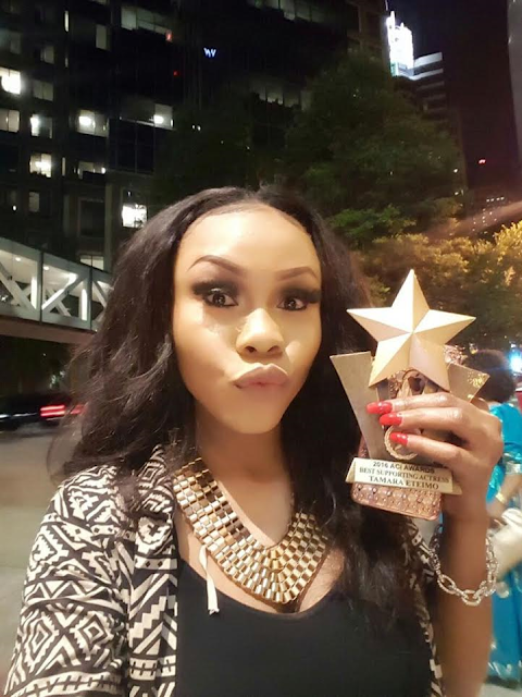 Nollywood actress, Tamara Eteimo