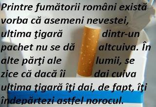 Superstiţi ţigări, fumat şi fumători