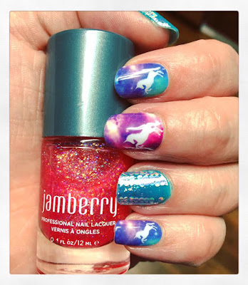 Space Unicorns Nail Art Studio Jamberry nail wraps - What Is Jamberry? - The Vegan Nail Art Revolution