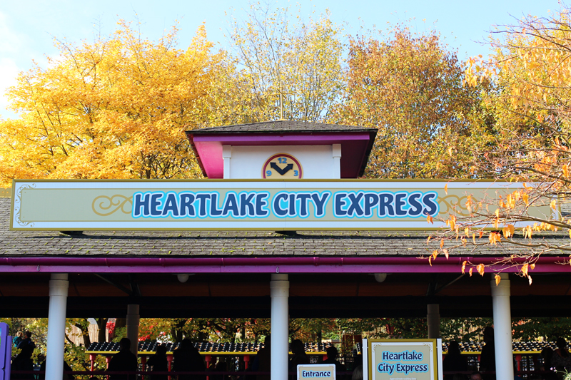 heart lake express legoland