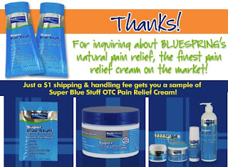Image: Super Blue Stuff OTC | The finest pain relief cream on the market!