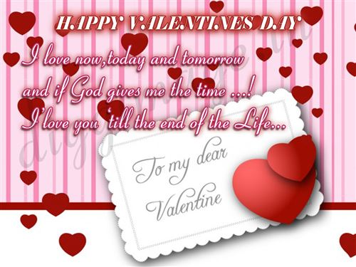 Unique Happy Valentine's Day Wishes For Wife