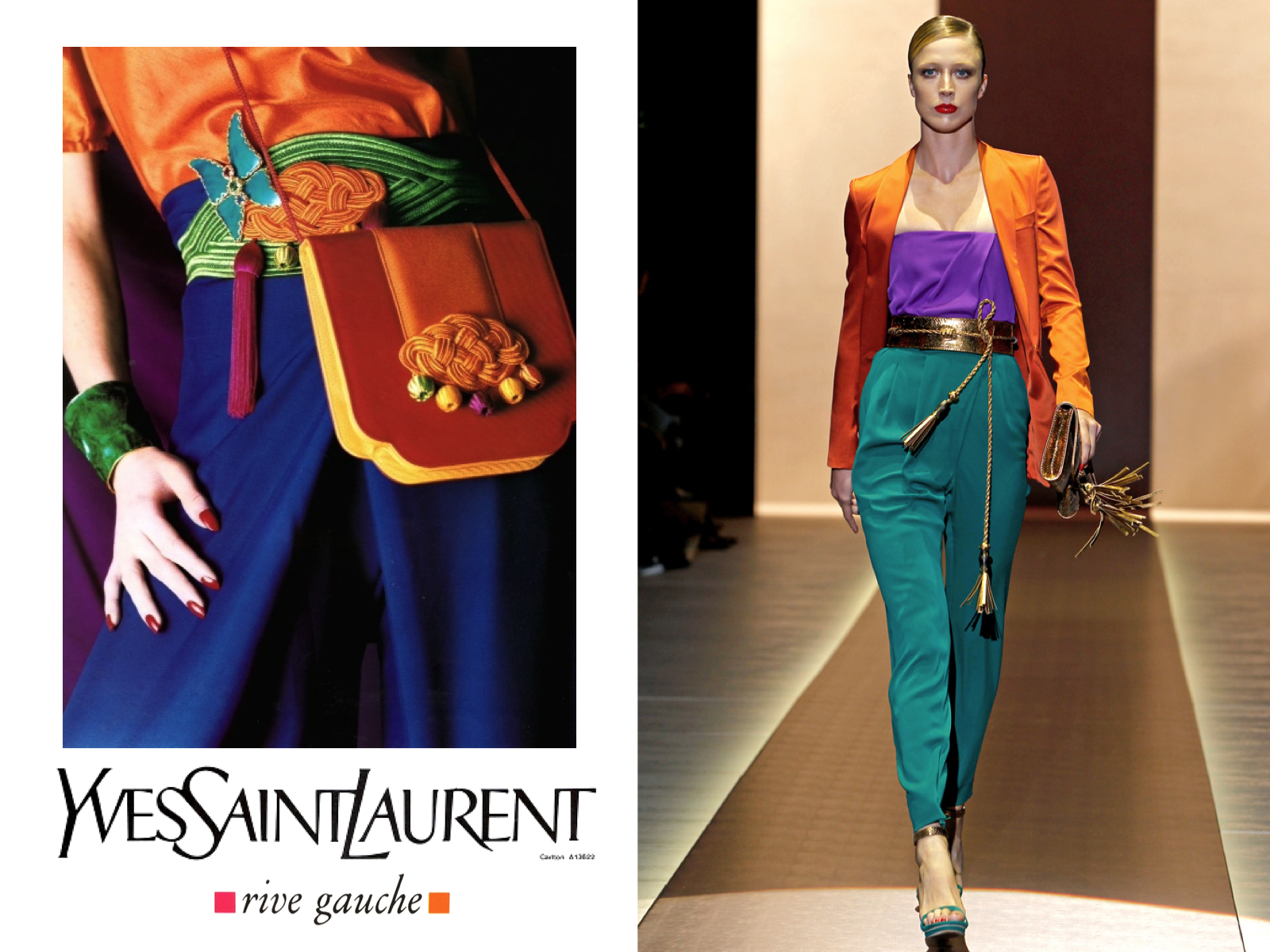 709b9d949d972 INTO THE FASHION: INSPIRATION Yves Saint Laurent SS||1993... Gucci ...