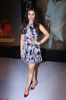Kyra Dutta in a Deep neck Small Dress at Shamanthakamani pre release function ~  Exclusive 091.JPG