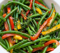 GREEN BEAN-BELL PEPPER SAUTE
