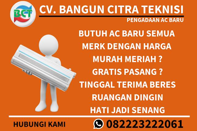 Beli AC Baru Gratis Pasang Semarang Timur