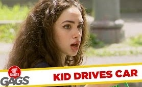 Kid Driving a Car Prank! – Just For Laughs Gags