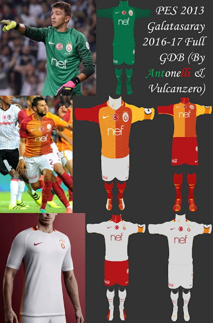 PES 2013 Galatasaray SK Kit Season 2016-2017