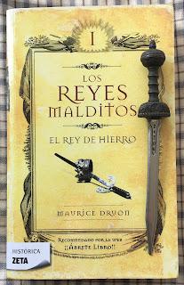 Portada del libro El rey de hierro, de Maurice Druon