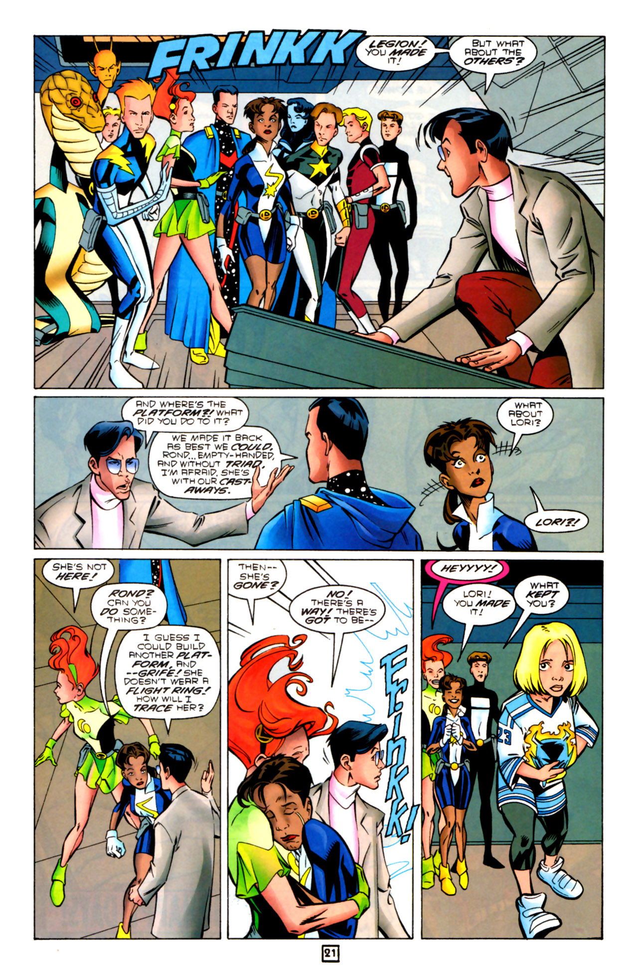 Legion of Super-Heroes (1989) 91 Page 20
