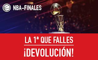 sportium NBA - Finales 2018: Te reembolsamos la 1ª que falles