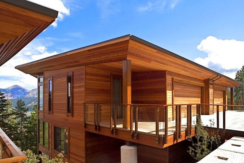 Rancangan Rumah Panggung Kayu Minimalis Minimalis