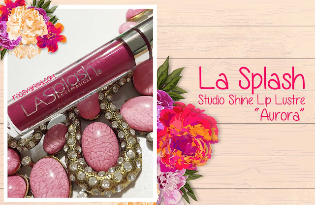 La Splash; Lip Couture; Smitten; Review La Splash; Lip Lustre; Lustre; Studio Shine; Review Lip Lustre; review Lip Lustre Aurora; Aurora; Huda Beauty; Lasplash; lasplash cosmetic; lip liquid; lip produk; lipstick awet; lipstik tahan lama; makeup demo; makeup; makeupuccino; onlineshop; beauty blogger; Beauty Blogger Indonesia; blogger; blog