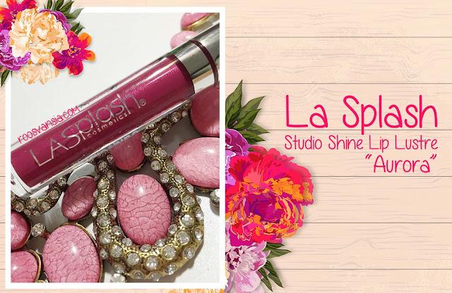 La Splash; Lip Couture; Smitten; Review La Splash; Lip Lustre; Lustre; Studio Shine; Review Lip Lustre; review Lip Lustre Aurora; Aurora; Huda Beauty; Lasplash; lasplash cosmetic; lip liquid; lip produk; lipstick awet; lipstik tahan lama; makeup demo; makeup; makeupuccino; onlineshop; beauty blogger; Beauty Blogger Indonesia; blogger; blog