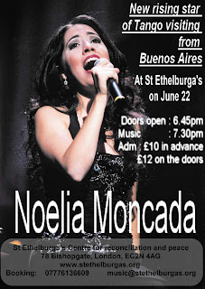 BUY TICKETS FOR NOELIA MONCADA : 22 JUNE