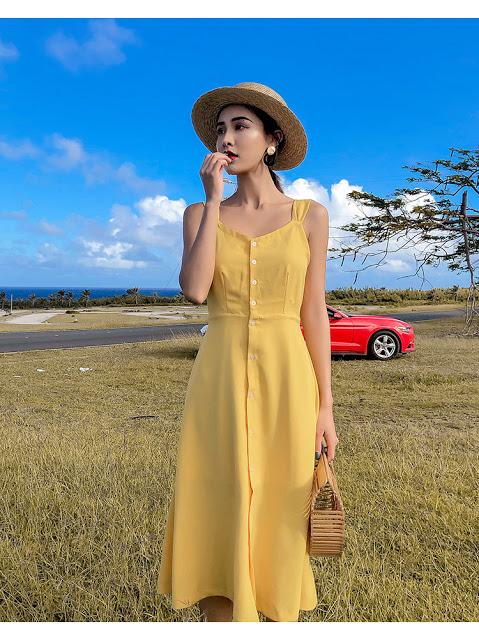 Shop ban vay maxi tai Thanh Xuan