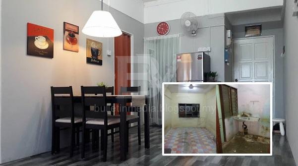 Rumah Sewa Kotor Macam 'Jamban' Berubah Jadi Mewah