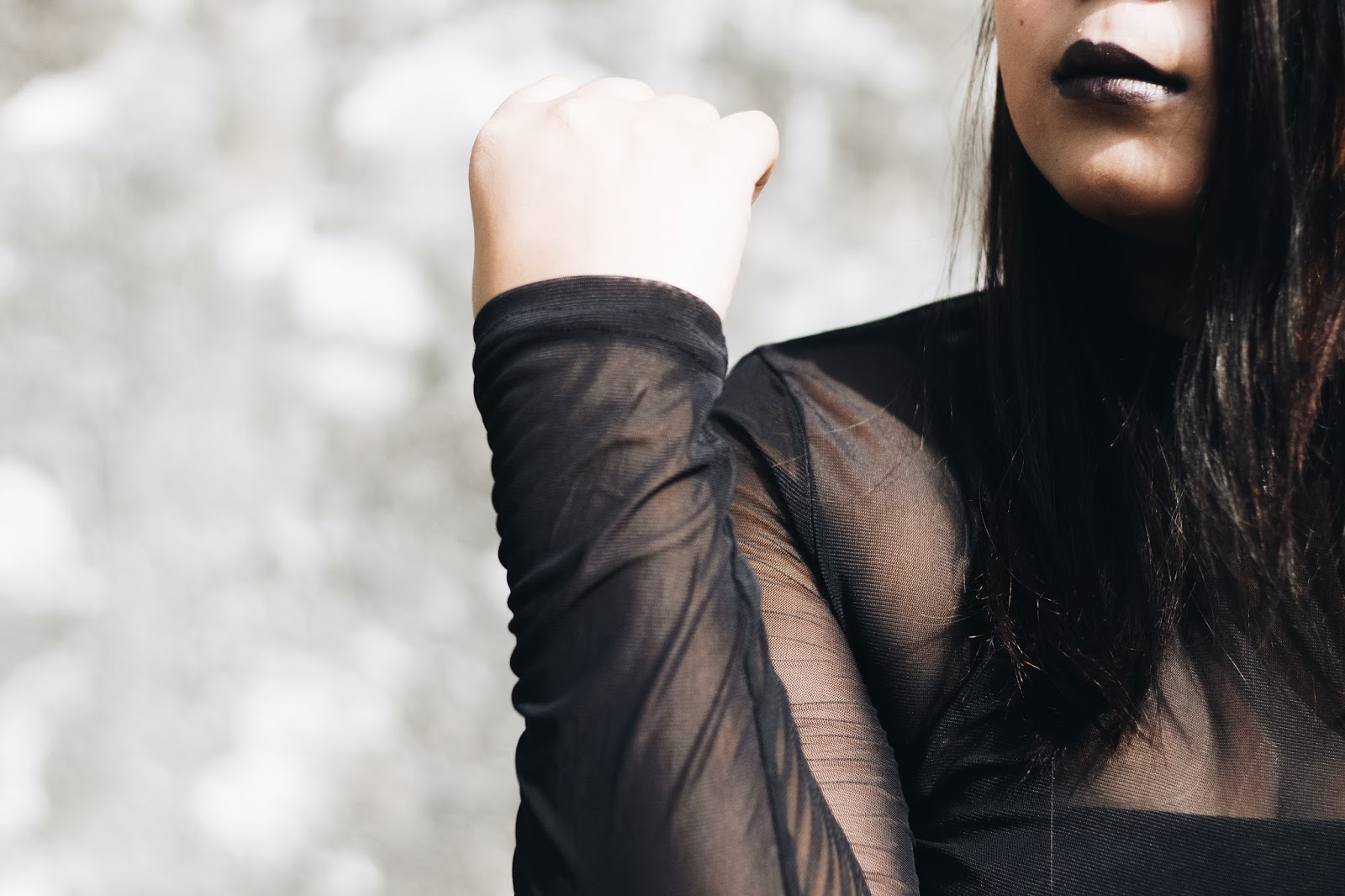 Selestyme Indian fashion blogger Fall look How to Wear Sheer Top in fall