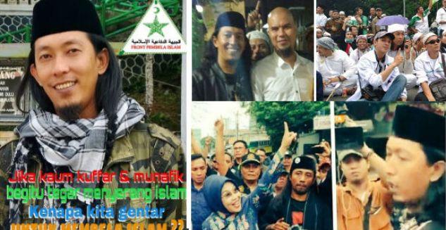 Ketua FPI Jakpus Tersangka Penghadang Kampanye Djarot di Petamburan Jadi Buron