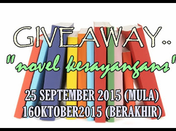 GIVEAWAY:NOVEL KESAYANGANS