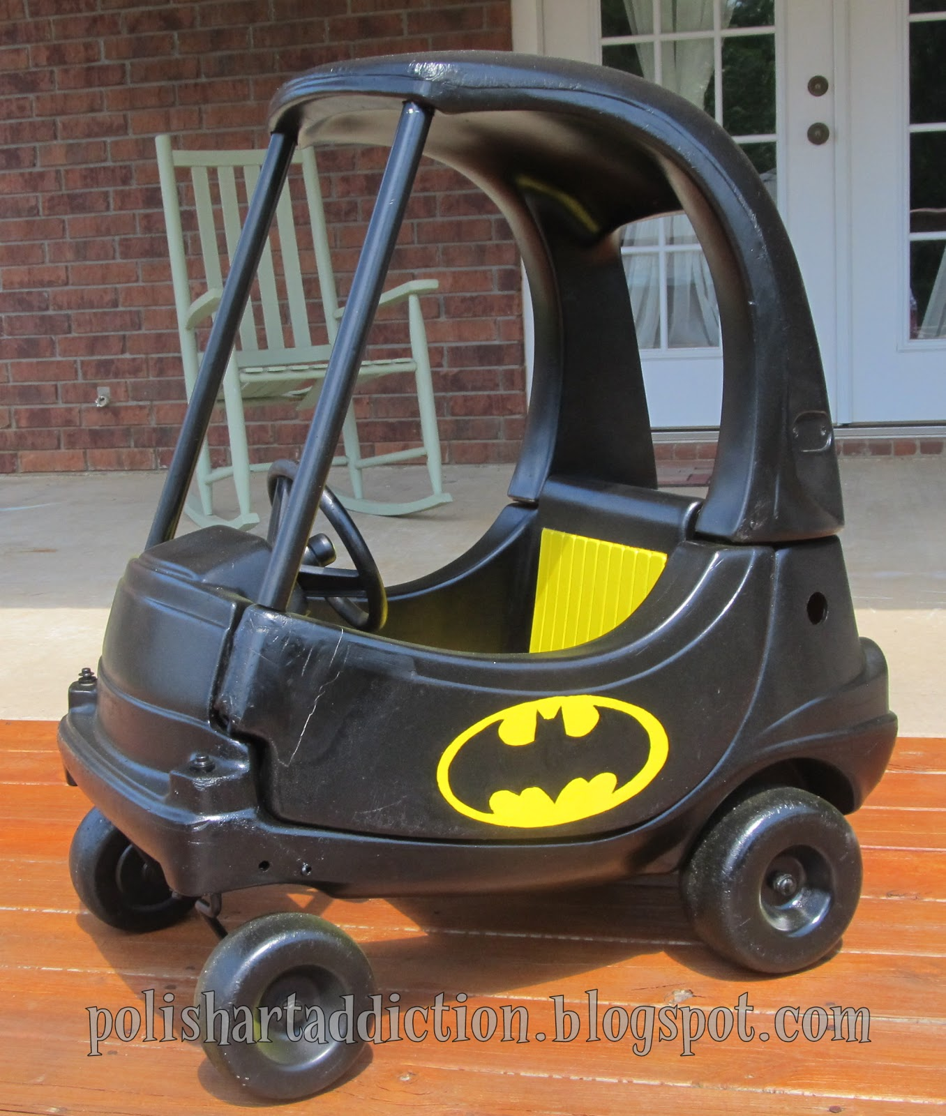 Batmobile Cozy Coupe